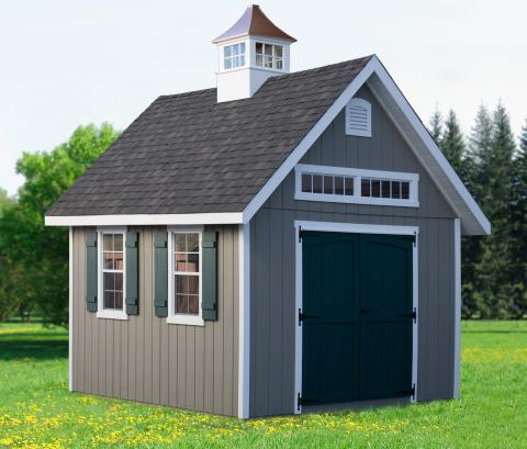 Elite Shed With Cupola
