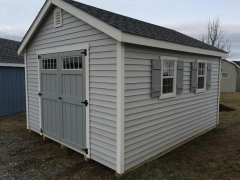 Storage shed in Easton