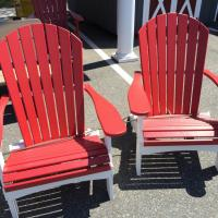 Red Outdoor Folding Chairs